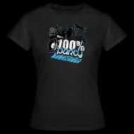 T-shirts ~ T-shirt dam ~ 100% PARTY GLÖD (Nyhet)