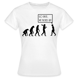 evolution T-Shirts - Women's T-Shirt
