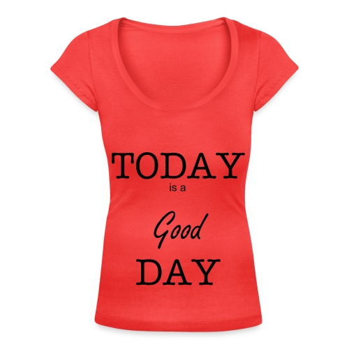 Good day #2 - T-shirt scollata donna