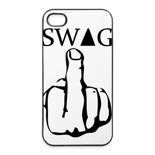 Cover Swag #1 - Custodia rigida per iPhone 4/4s
