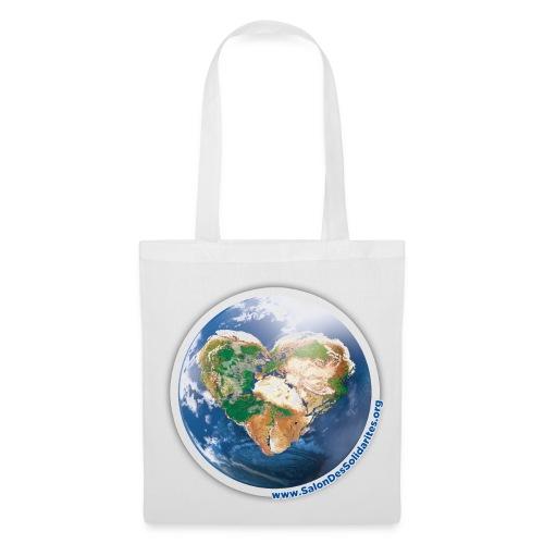 Je porte un monde solidaire - Tote Bag