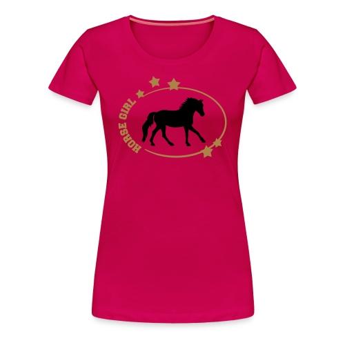 Horse Girl T-Shirt - Women's Premium T-Shirt