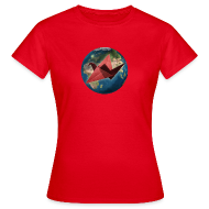 T-Shirts ~ Women's T-Shirt ~ Womens Mother Earth T Shirt