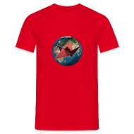 T-Shirts ~ Men's T-Shirt ~ Mens Mother Earth T Shirt