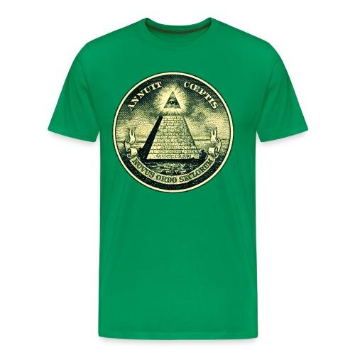 T-Shirt 'Illuminati' - Mannen Premium T-shirt