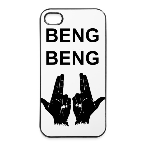 iPhone Cover 'BENGBENG' - iPhone 4/4s hard case