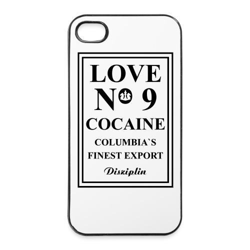 iPhone Cover 'COCAÏNE' - iPhone 4/4s hard case