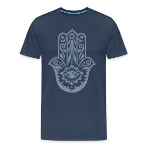T-Shirt 'HolyHand' - Mannen Premium T-shirt