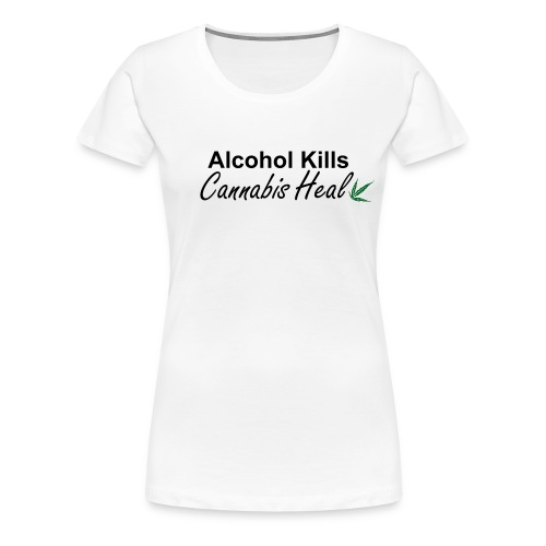 Tee shirt Cannabis Heal Collection - T-shirt Premium Femme