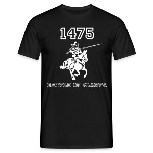 Battle of Planta - 1475 - chevalier - T-shirt Homme