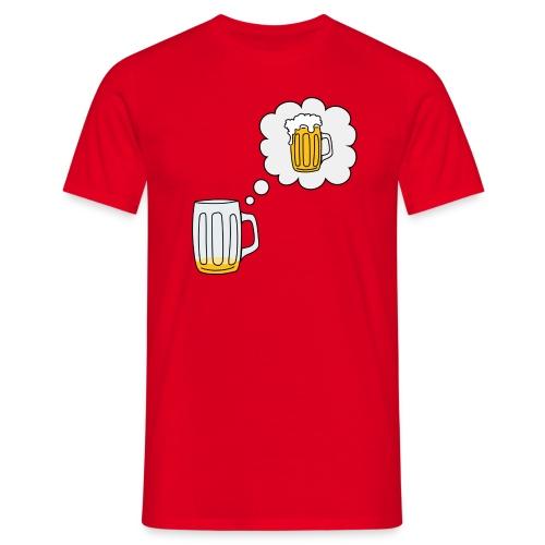beer bier Gerstensaft Bräu oktoberfest - Camiseta hombre
