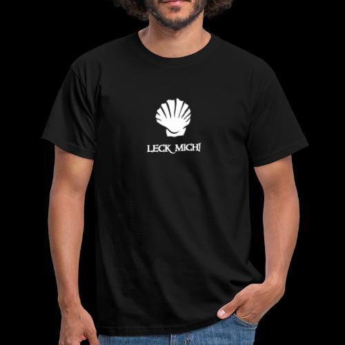 ~ Leckmuschel ~ - Männer T-Shirt