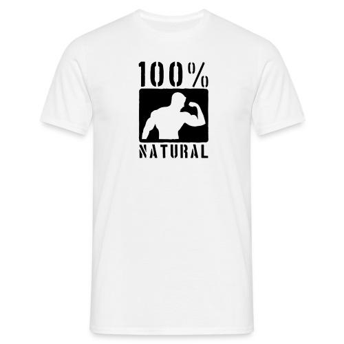 100% Natural White - Men's T-Shirt