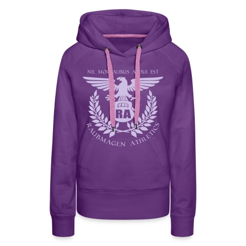 WMNS Hoodie NMAE Eagle / Squat Logo  - Frauen Premium Hoodie