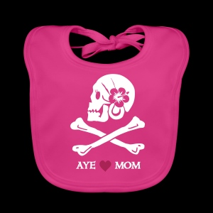 ~ Aye ♥ Mom ~  - Baby Bio-Lätzchen