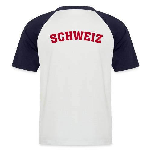 Männer Baseball-T-Shirt - Schweiz