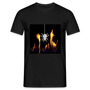 Feuerspinne - Männer T-Shirt