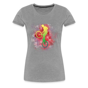 Bikes and Blood - Women's Premium T-Shirt