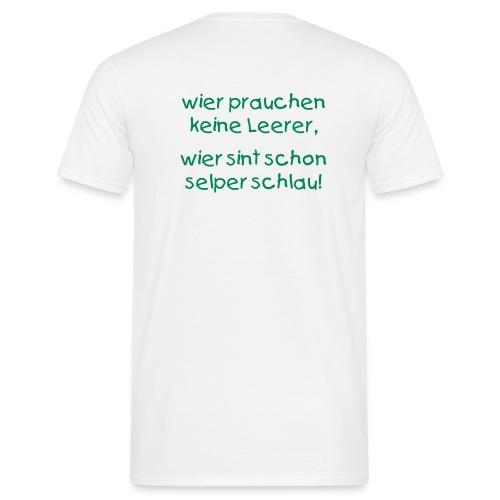 Männer T-Shirt - Sprache