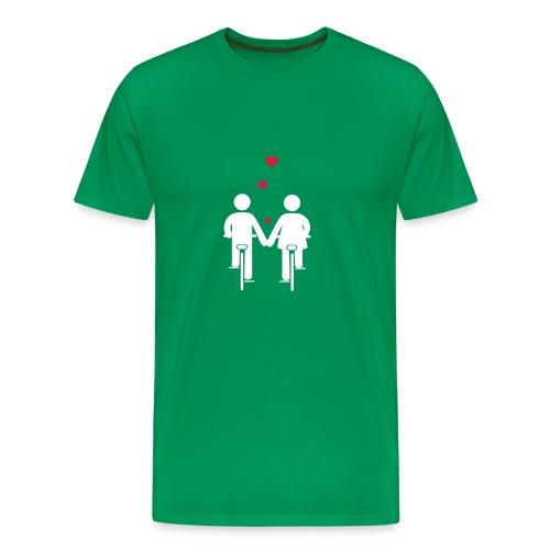 Bike Romance - Männer Premium T-Shirt