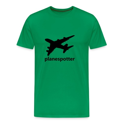 Planespotter - Männer Premium T-Shirt