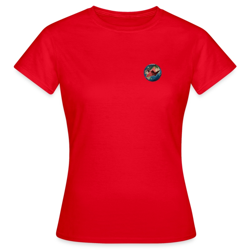 Womens Pocket Mother Earth T Shirt - Women's T-Shirt