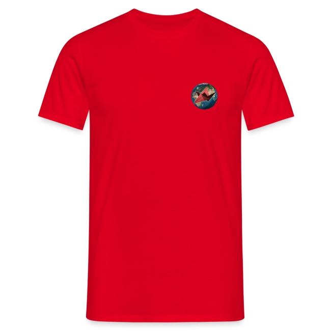 Mens Pocket Mother Earth T Shirt