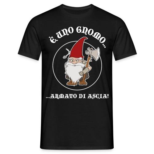 GnomoArmato logo font. - T-Shirt UOMO - Maglietta da uomo