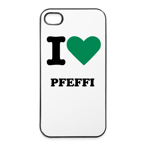 I LOVE PFEFFI - iPhone 4/4s Hard Case