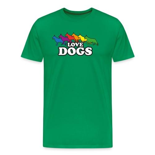 Love Dogs - Männer Premium T-Shirt