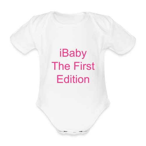 iBaby The First Edition - Baby bio-rompertje met korte mouwen