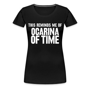 Reminder (Women's) - Women's Premium T-Shirt