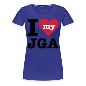 I love my JGA - Frauen Premium T-Shirt