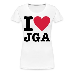 I love JGA - Frauen Premium T-Shirt