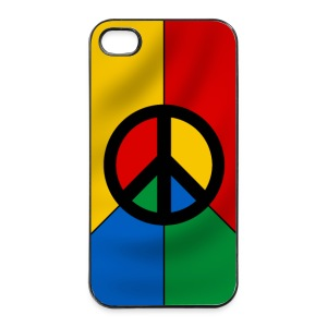 coque smartphone peace symbol - Coque rigide iPhone 4/4s