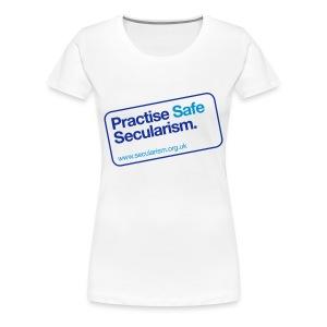 Practise safe secularism - Women's Premium T-Shirt
