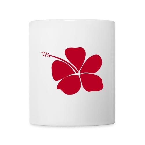 HIBISCUS FLOWER TASSE - Mug blanc