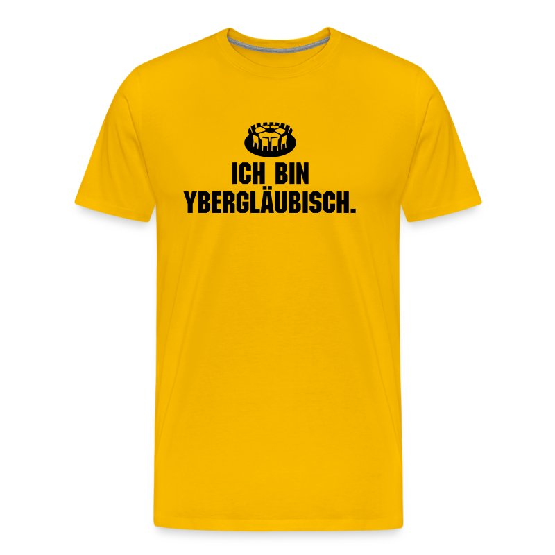 ybergläubisch - Männer Premium T-Shirt