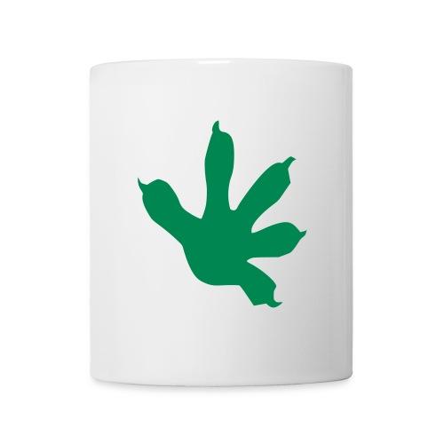 GECKO FINGERS TATTOO TASSE - Mug blanc