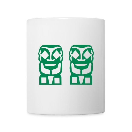 2 TIKIS TATTOO TASSE - Mug blanc