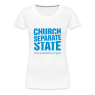 T-Shirts ~ Women's Premium T-Shirt ~ Separate church and state