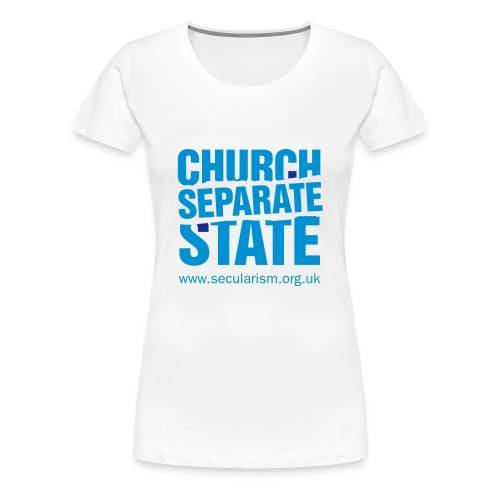 Separate church and state - Women's Premium T-Shirt