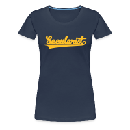 T-Shirts ~ Women's Premium T-Shirt ~ Secularist - baseball design
