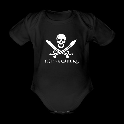 ~ Mini Teufelskerl ~ - Baby Bio-Kurzarm-Body