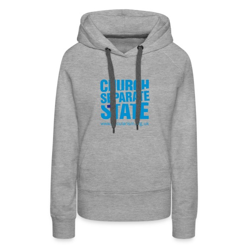 Separate church and state - Women's Premium Hoodie