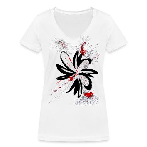 T-Shirt femme col-V Oxymores - T-shirt bio col V Stanley & Stella Femme