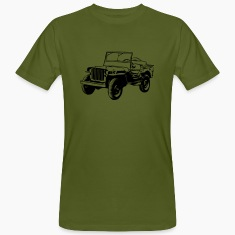 T-shirt organic: Willys Jeep