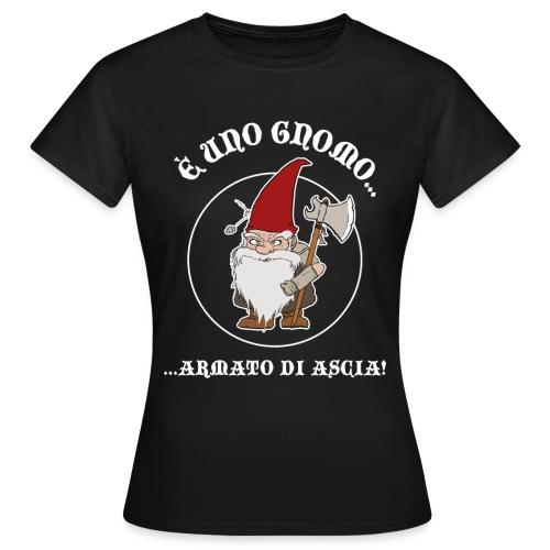 GnomoArmato logo font. - T-Shirt DONNA - Maglietta da donna