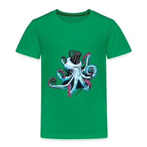 Gentleman Octopus Tee - Kids' Premium T-Shirt
