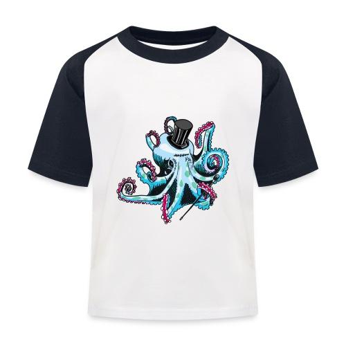 Gentleman Octopus Baseball Tee - Kids' Baseball T-Shirt